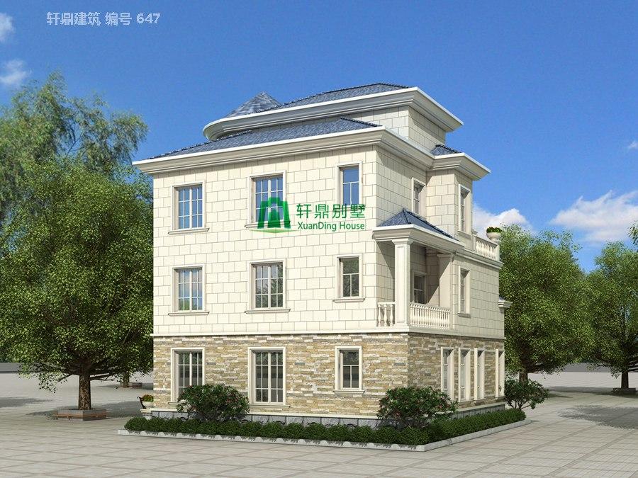 欧式三层半自建别墅设计图14.jpg