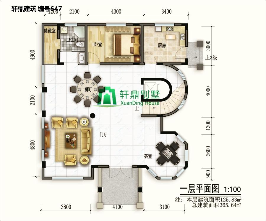 欧式三层半自建别墅设计图5.jpg