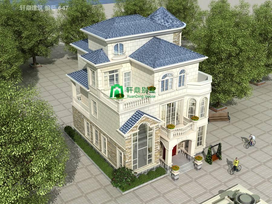 欧式三层半自建别墅设计图13.jpg