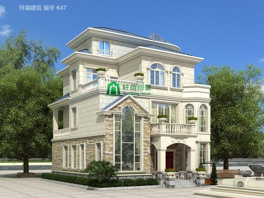 欧式三层半自建别墅设计图12.jpg