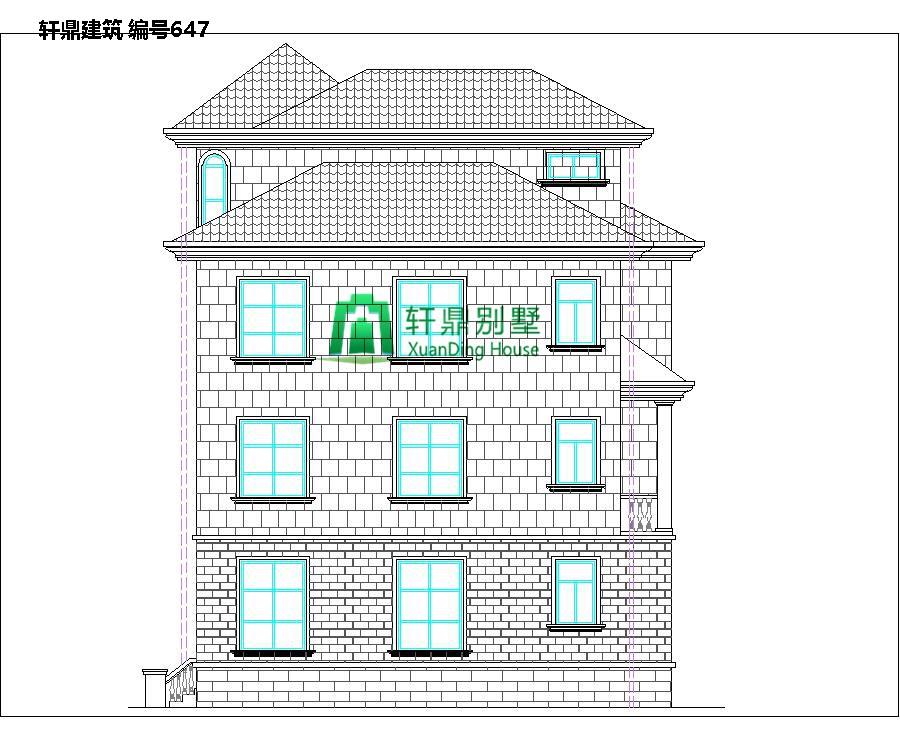 欧式三层半自建别墅设计图2.jpg
