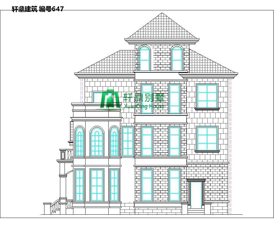 欧式三层半自建别墅设计图3.jpg
