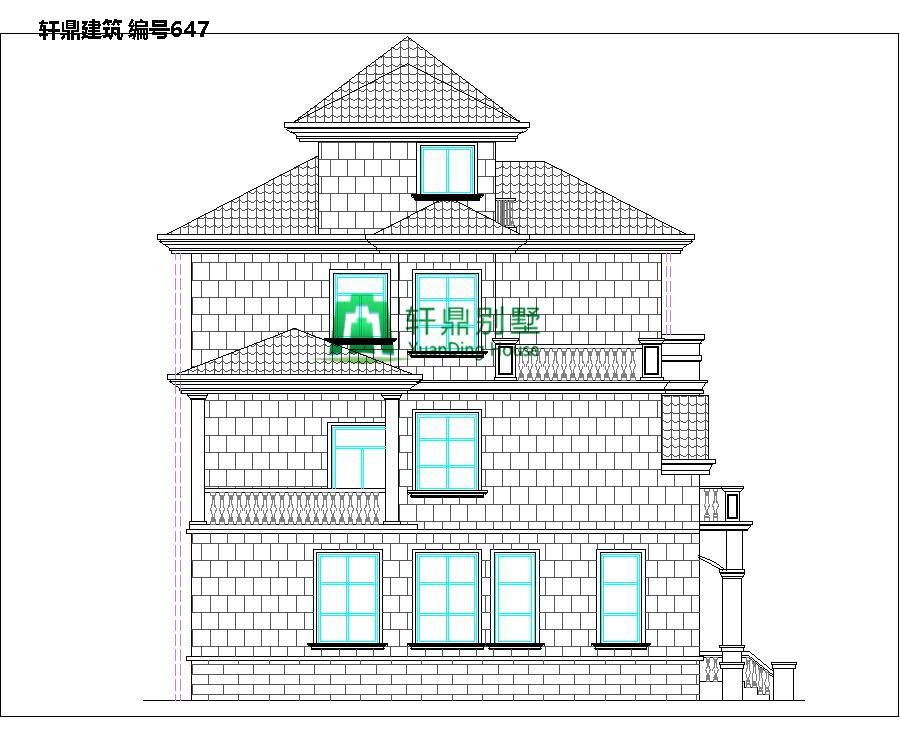 欧式三层半自建别墅设计图4.jpg
