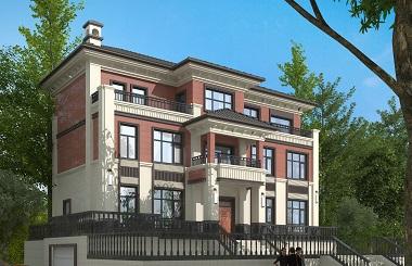 经典新中式自建别墅设计图,新年流行款式