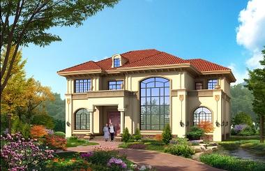 轩鼎原创精品二层自建复式房屋设计图,含全套完善施工图纸