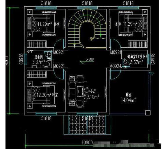 小户型有大价值的理论不是空穴来风,两款方案一款低调的二层结构、一款豪华三层结构,总有一款你能看得上!