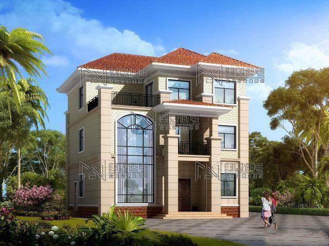 今天就给大家分享一套自建房3层户型占地只需11米X11米,符合很多地区农村宅基地标准!