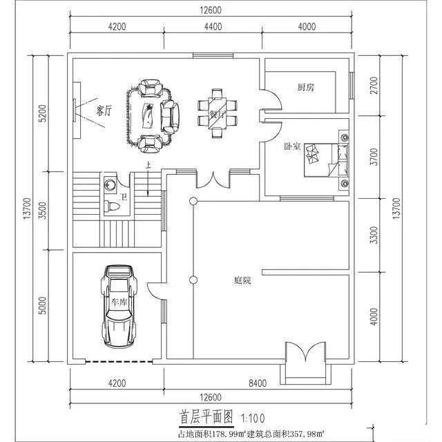 今天带给您的这套中式小庭院占地面积小,造价经济,普通人也可以建造!