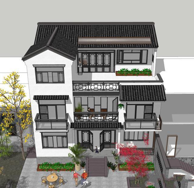 自建三层乡村小别墅,一套设计瞬间变身农村小洋楼!这套设计让人借鉴的地方很多,一起看看!