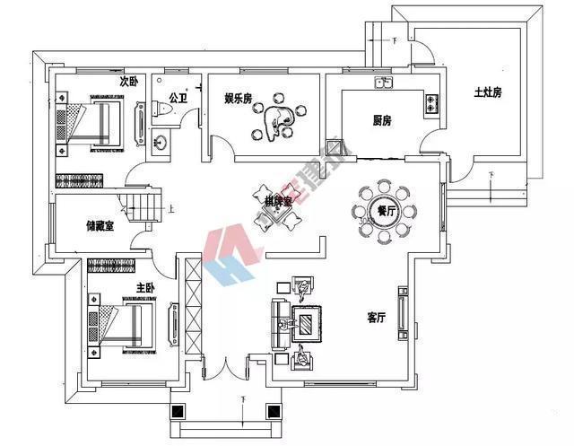 我们推荐一款新中式带土灶二层别墅,占地180平米实用又经济建筑的每一个细节都反映了我们的主观愿望!