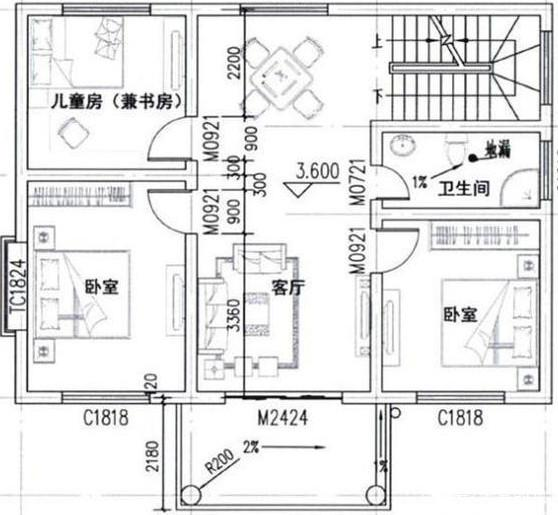 本期,我们将推荐三个小型的农村自建房屋,都是两层楼,看看它们是否能吸引你的注意力。
