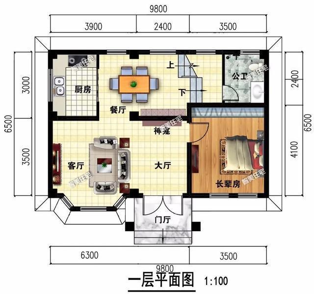 如果我家乡的宅基地真的很小,那么我只能建一栋小别墅。下面两栋农村2层别墅,宽约9米,有3-4间室内卧室。建设成本非常实用!