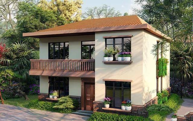很多人在挣钱的时候会回家盖一栋小别墅,就像杨先生今天盖的二层别墅一样,也是一种美丽的回归。在村子里建别墅肯定会有面子。