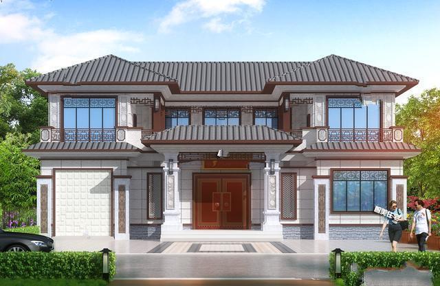二楼1812.6米的中式庭院是村里最漂亮的建筑,令人羡慕。中国式的两层复式住宅那一定是这个村子里最漂亮的房子,你的家人和朋友会羡慕你的家!