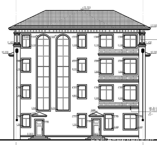 农村地区豪华欧式三层半别墅