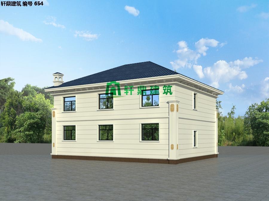 经典小二层欧式自建别墅施工图04.jpg