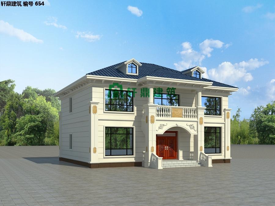 经典小二层欧式自建别墅施工图03.jpg