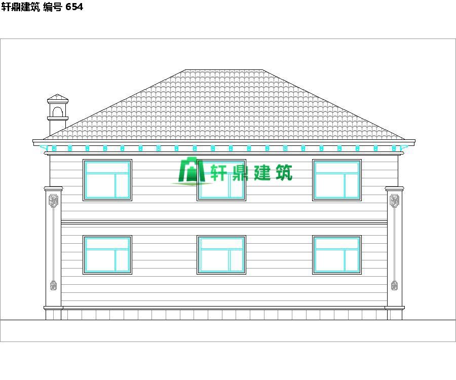 经典小二层欧式自建别墅施工图08.jpg