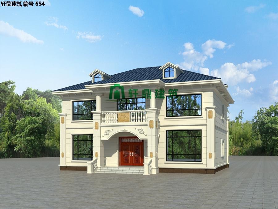 经典小二层欧式自建别墅施工图02.jpg