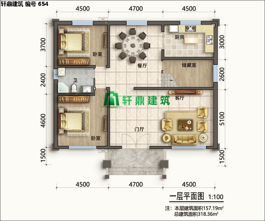 经典小二层欧式自建别墅施工图05.jpg