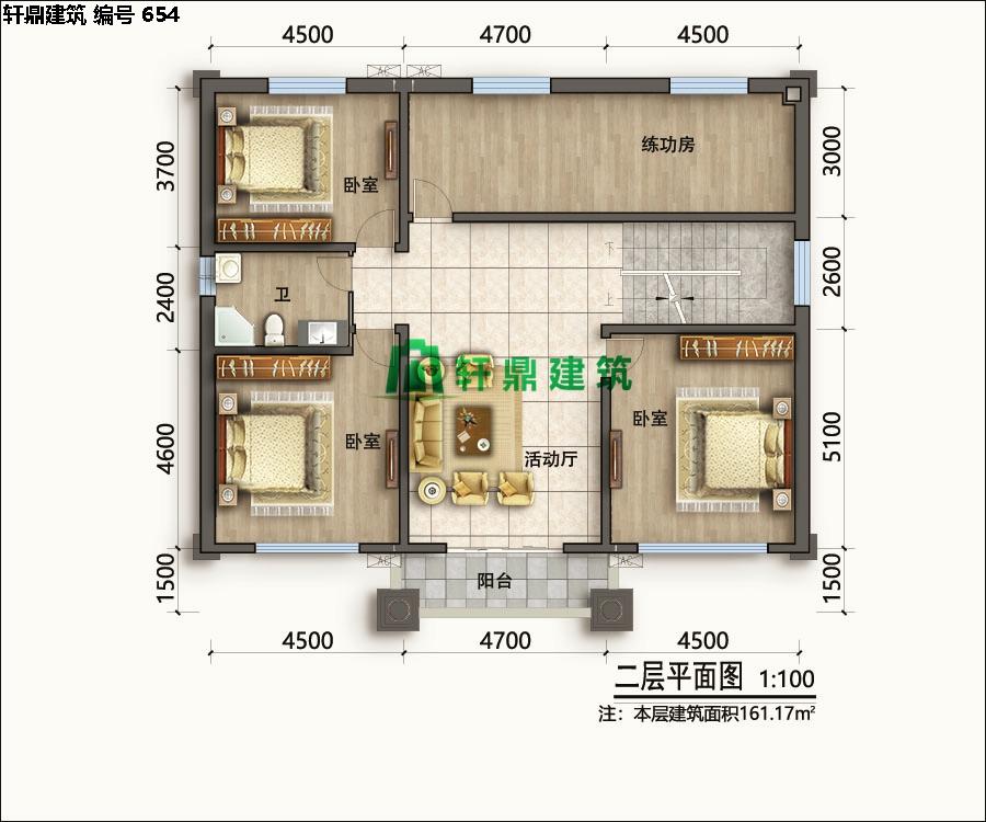经典小二层欧式自建别墅施工图06.jpg