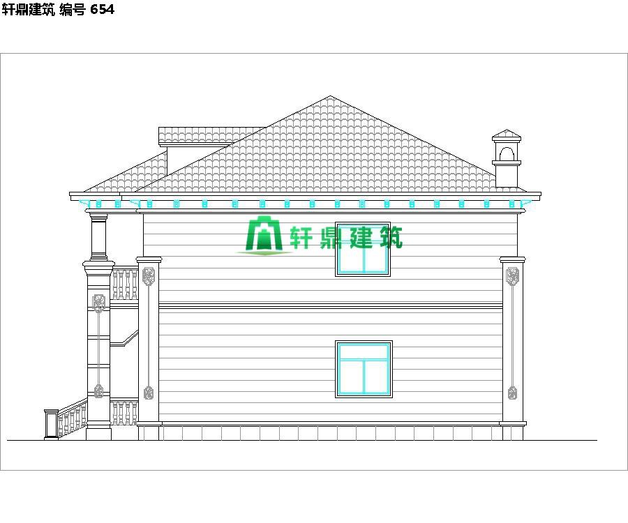 经典小二层欧式自建别墅施工图10.jpg