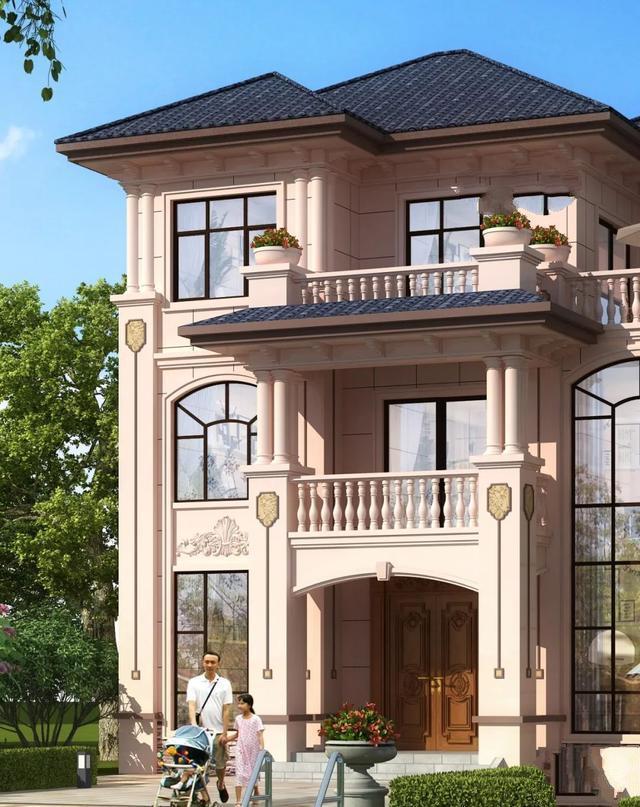 漂亮的新农村别墅