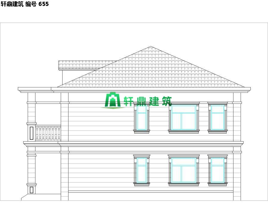 经典现代自建小别墅设计施工图08.jpg