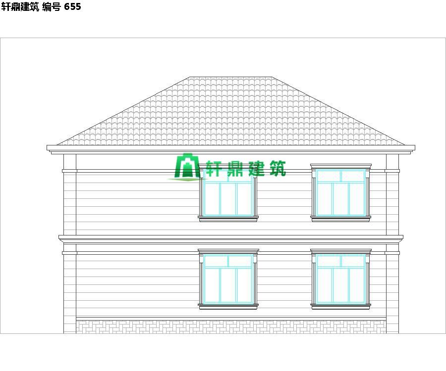 经典现代自建小别墅设计施工图07.jpg
