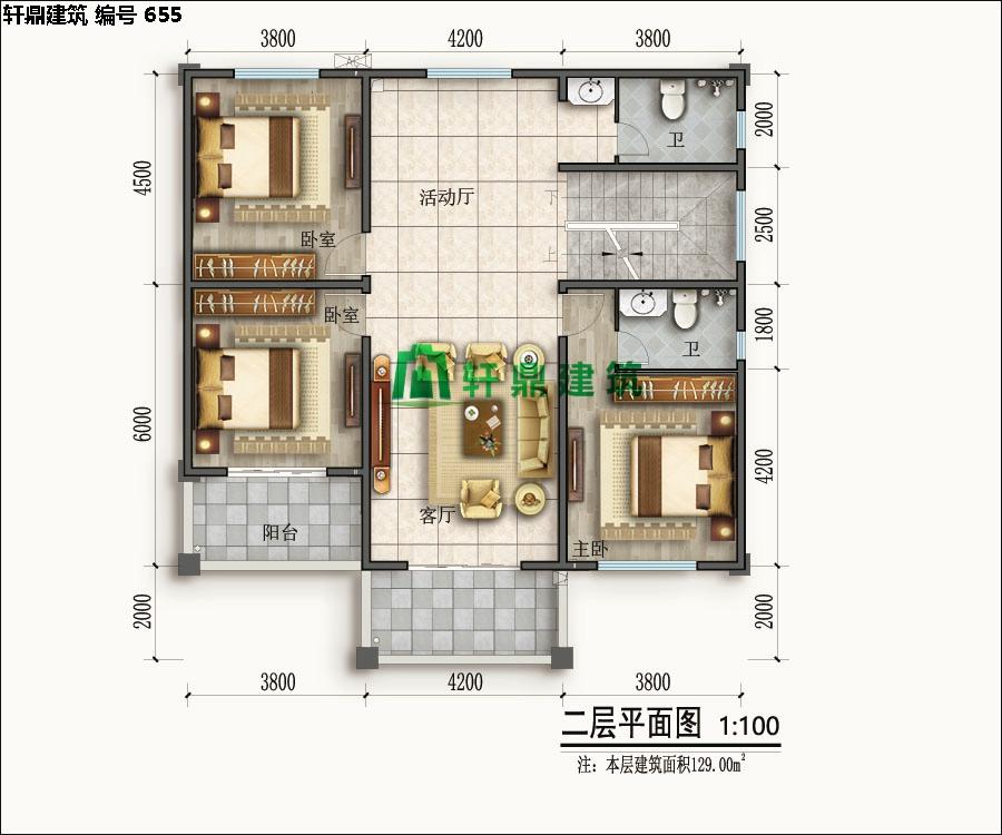 经典现代自建小别墅设计施工图11.jpg