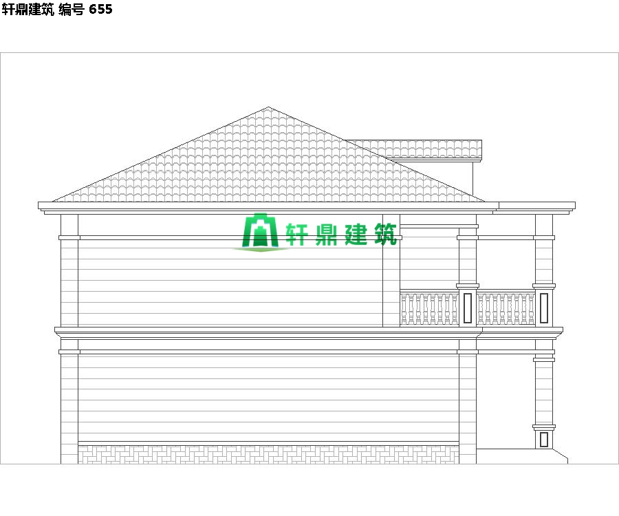 经典现代自建小别墅设计施工图09.jpg
