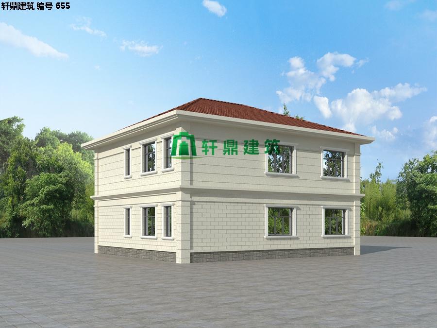 经典现代自建小别墅设计施工图01.jpg
