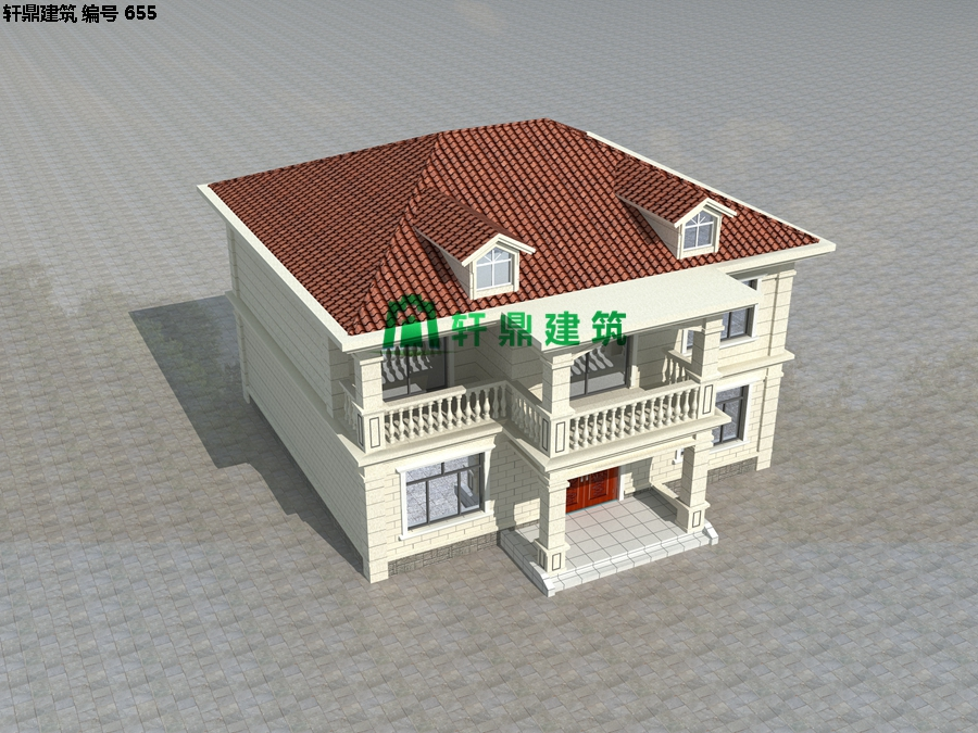 经典现代自建小别墅设计施工图04.jpg