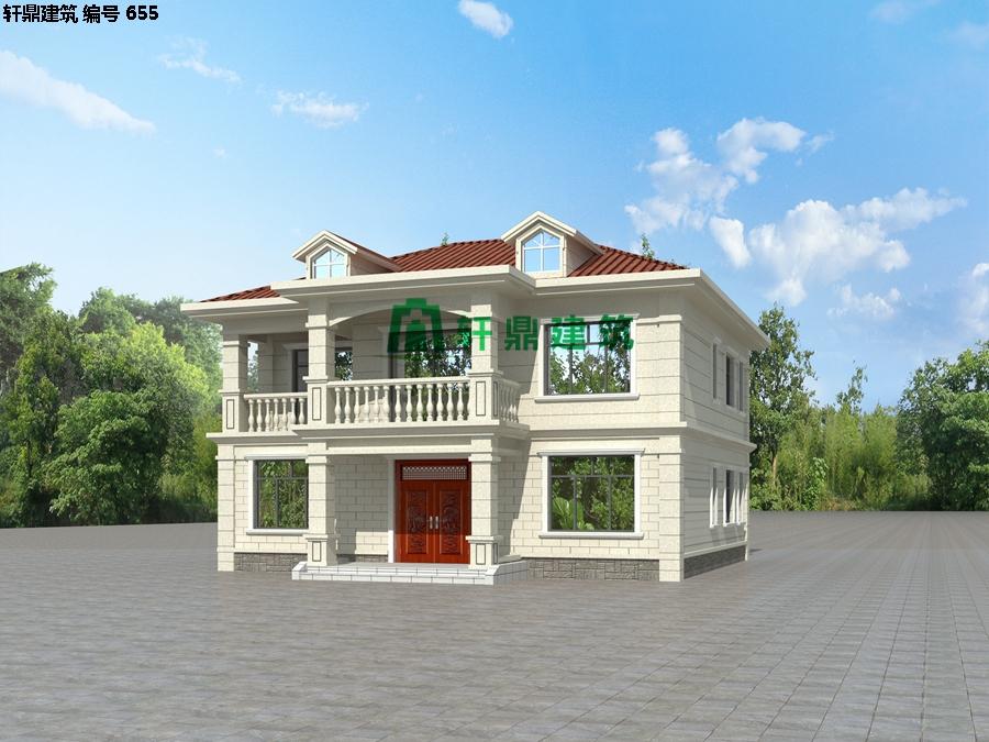 经典现代自建小别墅设计施工图03.jpg