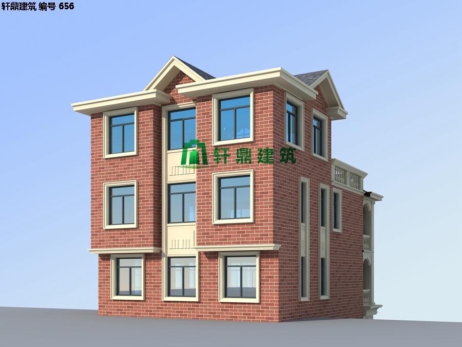 经典四层红砖别墅设计施工全套图纸09.jpg