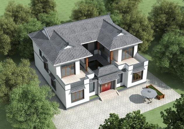 一层农村别墅的设计图