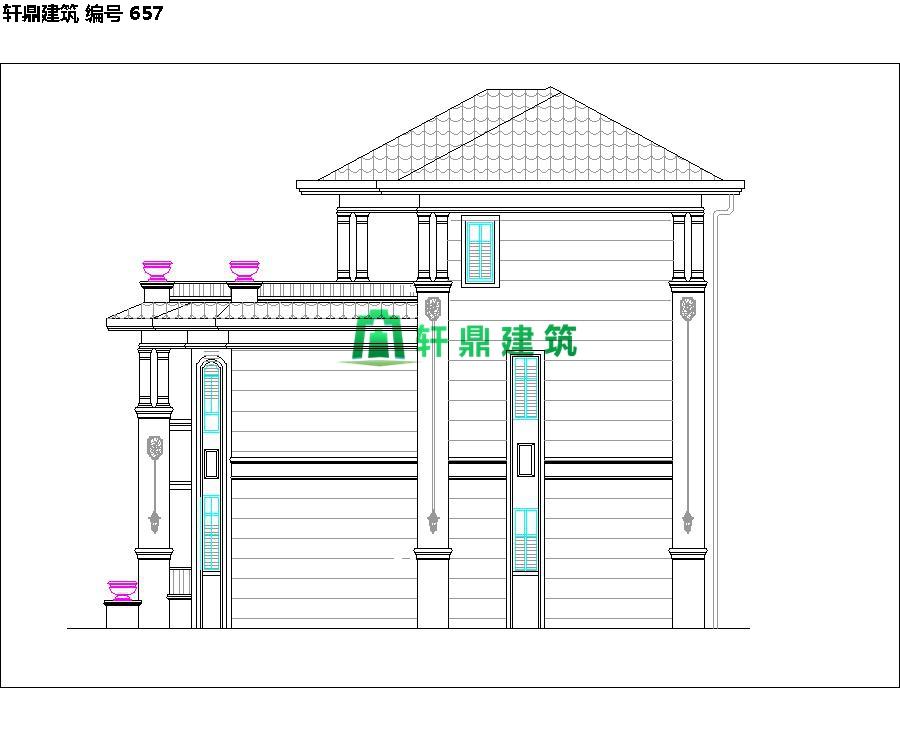 精品欧式三层自建别墅设计施工全套图纸09.jpg