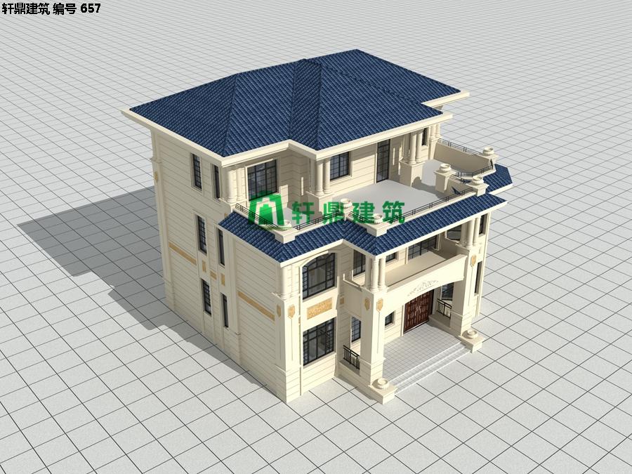 精品欧式三层自建别墅设计施工全套图纸03.jpg