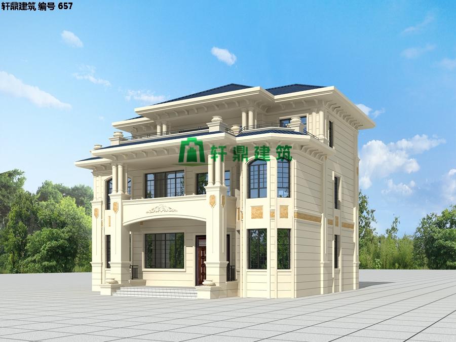 精品欧式三层自建别墅设计施工全套图纸01.jpg