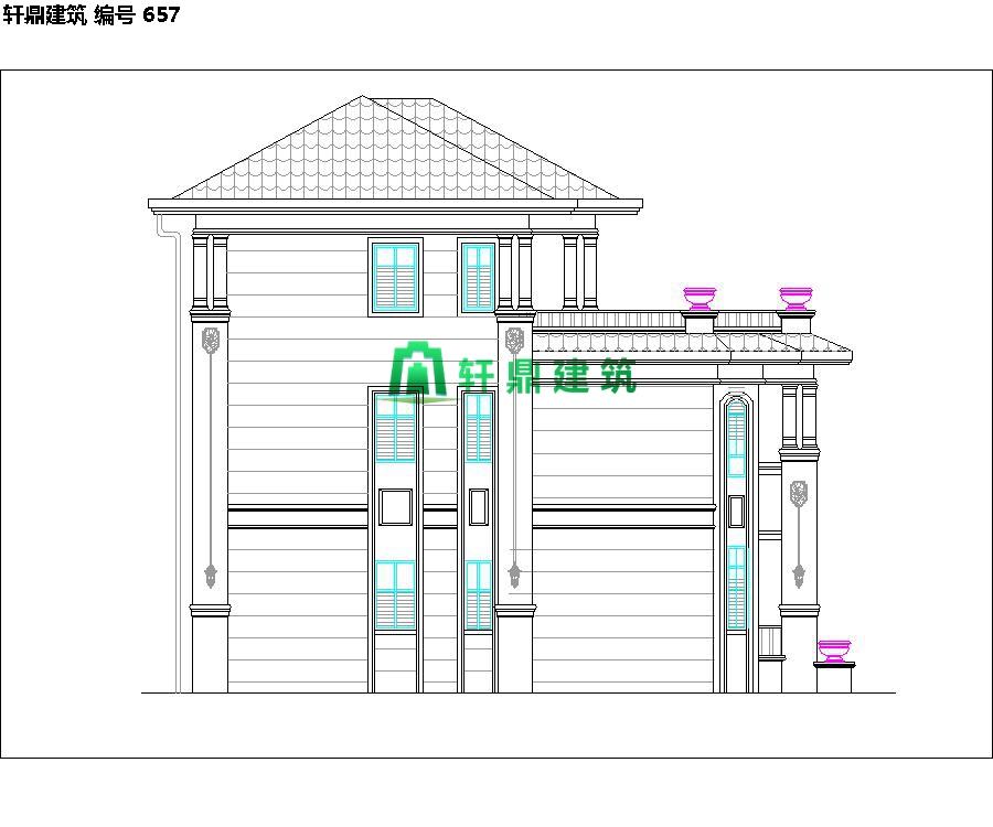 精品欧式三层自建别墅设计施工全套图纸08.jpg