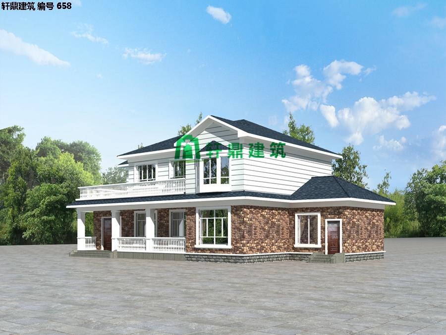 自建田园二层小别墅设计施工图03.jpg