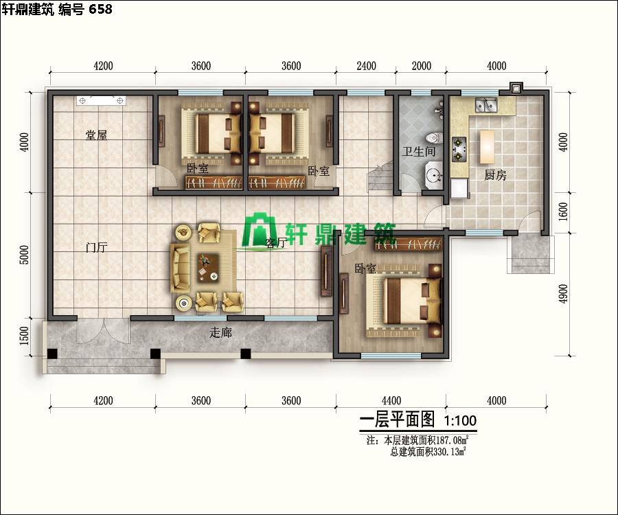 自建田园二层小别墅设计施工图09.jpg