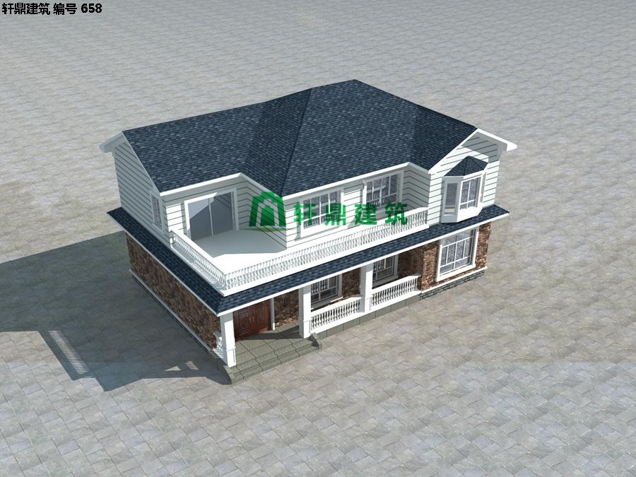 自建田园二层小别墅设计施工图04.jpg
