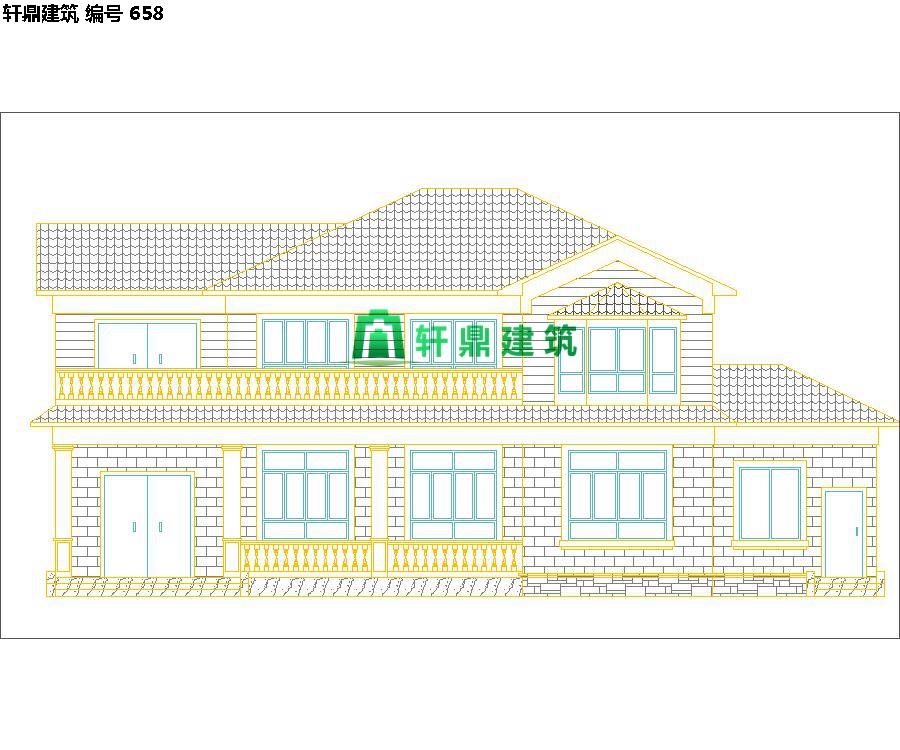 自建田园二层小别墅设计施工图05.jpg