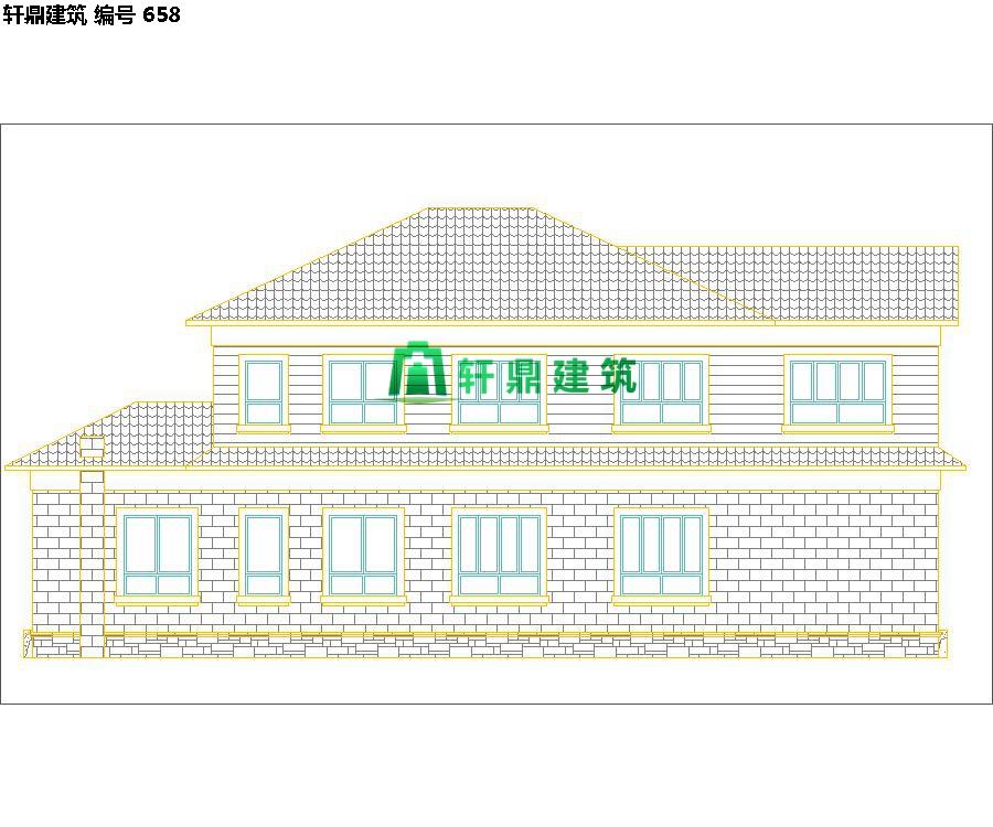 自建田园二层小别墅设计施工图06.jpg