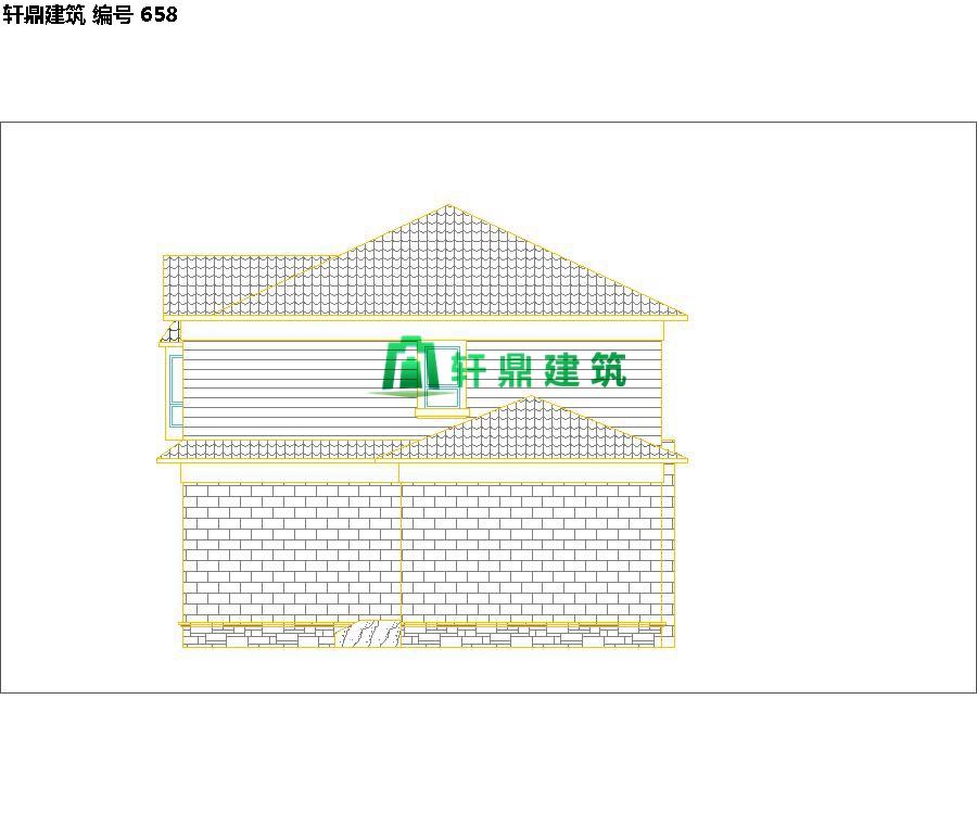 自建田园二层小别墅设计施工图08.jpg