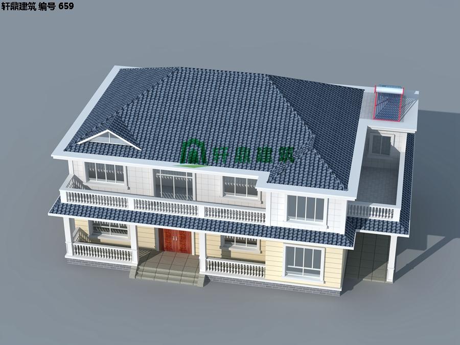 清新小二层自建别墅设计施工图09.jpg