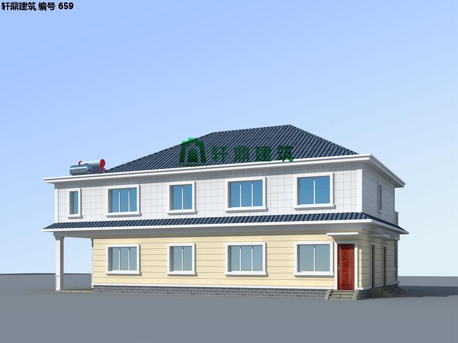 清新小二层自建别墅设计施工图07.jpg