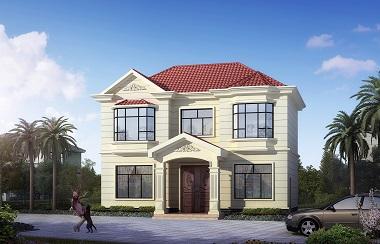 小户型自建房屋设计施工图,农村自建别墅设计