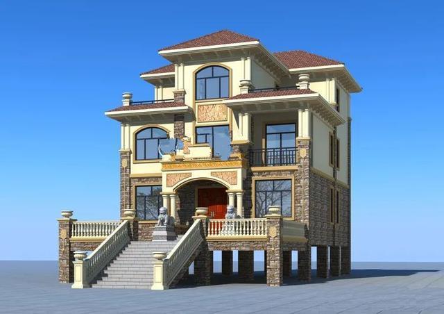 最重要的是要舒适地住在符合你自己喜好的房子里。这6个农村别墅效果图是你应该看一下的!